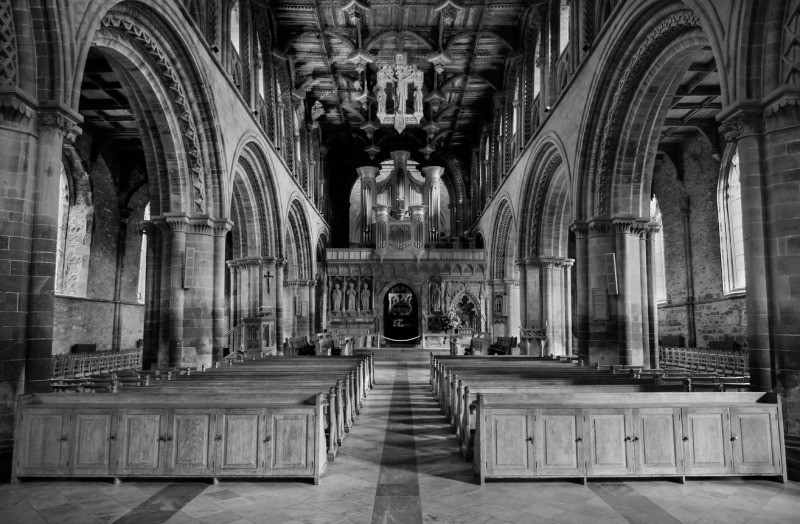 The Nave - St David's - Inland