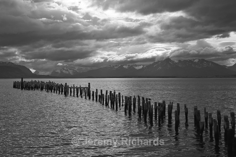 Derelict Pier - Torres del Paine National Park