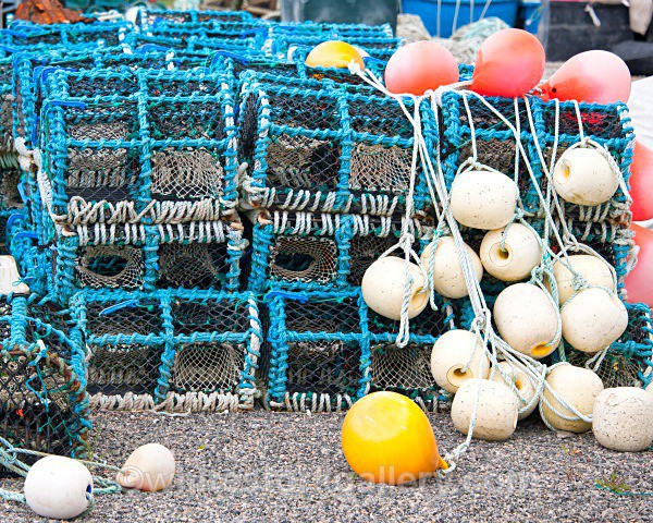 Fisherman Pots, Leverburgh - Scottish Highlands