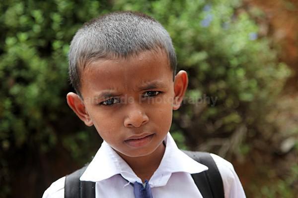 Sri Lanka school boy - Sri Lanka wildlife, people & places