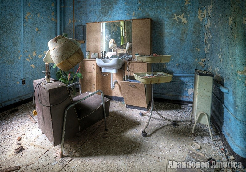 'all the things we once thought ordinary': undisclosed state hospital   Abandoned America