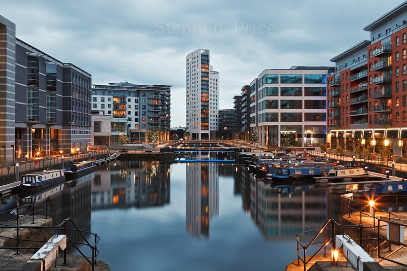 Clarence Dock | New Dock Waterfront | Leeds Night Photo