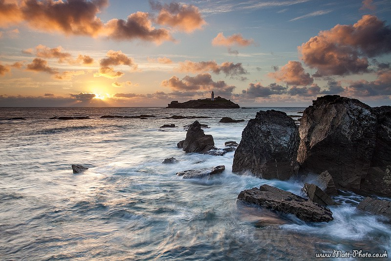 Godrevy Lighthouse - Cornwall - North Coast 2