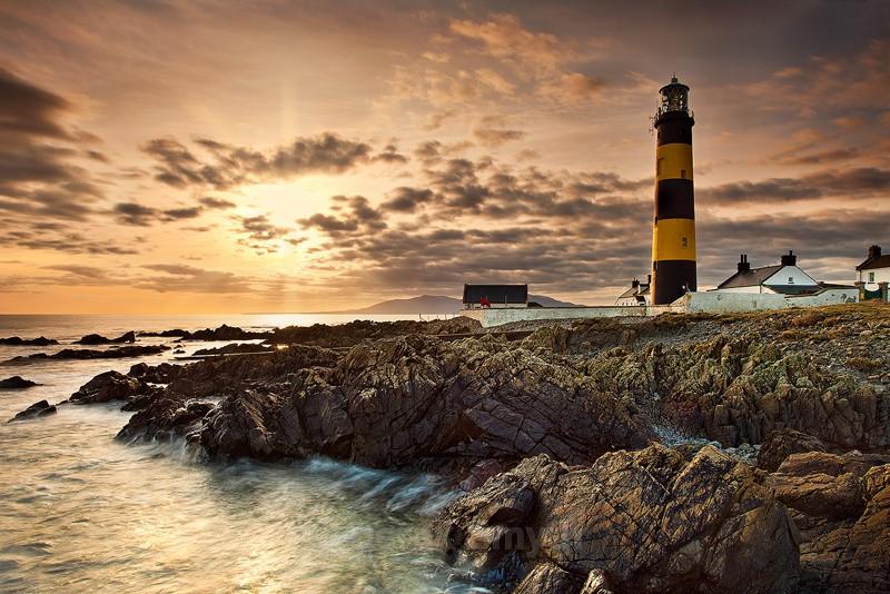 St. John's Point Lighthouse Sunset