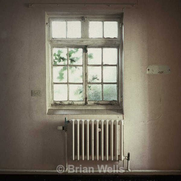 Window with Radiator, Great Plumstead Hospital - Windows and Doors/ Curtains and Wallpaper