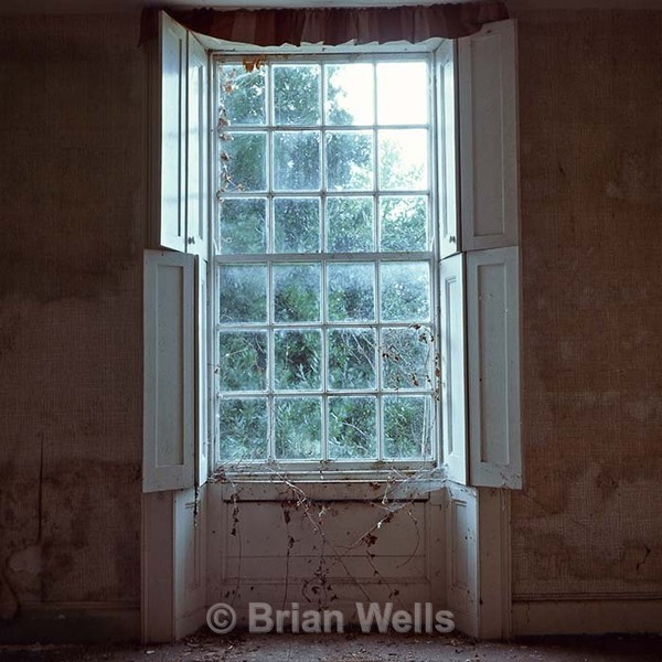 Shuttered Window, Podmore Farm - Windows and Doors/ Curtains and Wallpaper