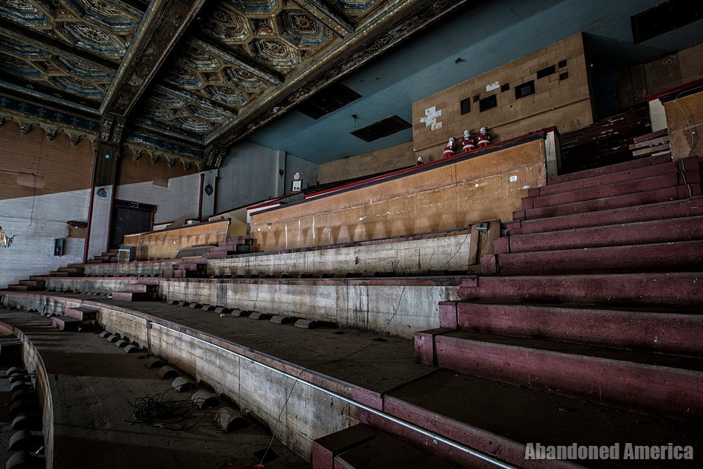 Balcony View at The Westlake Theatre, Los Angeles, CA | Abandoned America