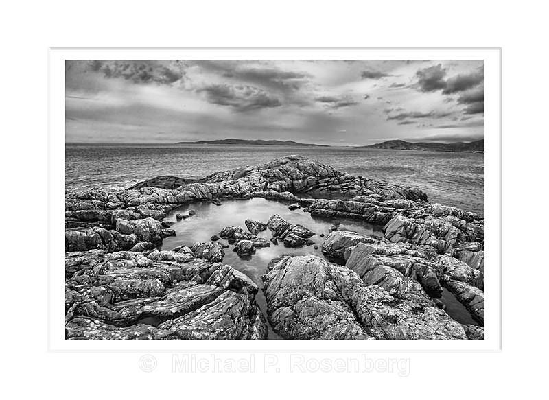 High Tidal Pool, Harris Island Outer Hebrides, Scotland - Scotland, UK