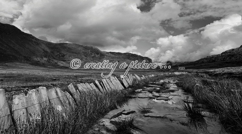 Cwmorthin Valley  - Landscapes