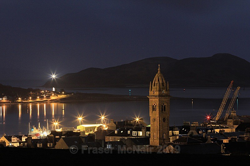 Campbeltown loch3394a - Night Photography