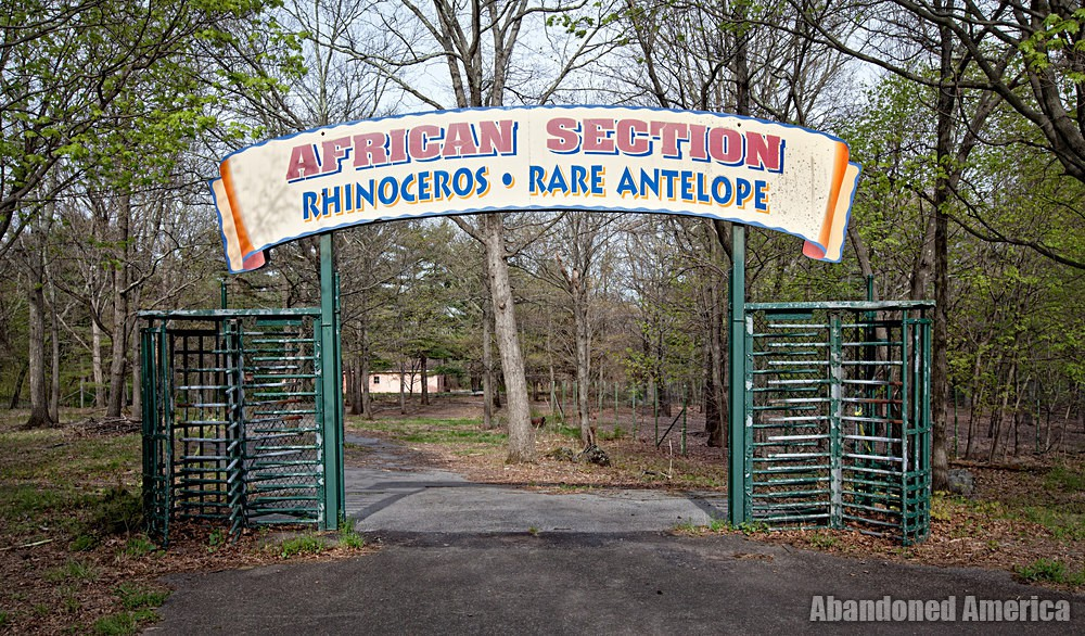 Catskill Game Farm (Catskill, NY) | African Section Entrance Sign - Catskill Game Farm