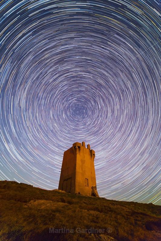 Startrails at Malin Head - Ireland by Night