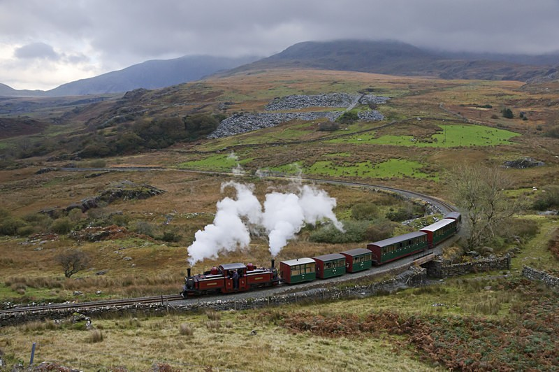 Rounding the curve - The Lure of Steam