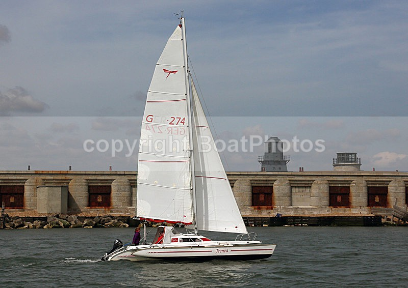 140504 FRENEA GER274 DRAGONFLY  WT7A1844 - Sailboats - multihull