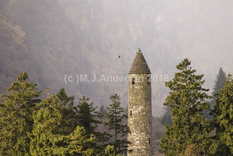Glendalough Roundtower - Co.Wicklow.