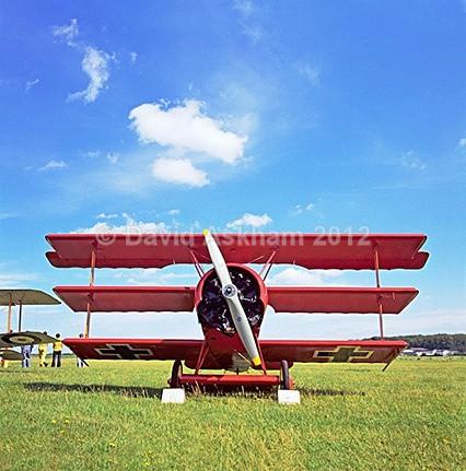 Fokker triplane - Aircraft