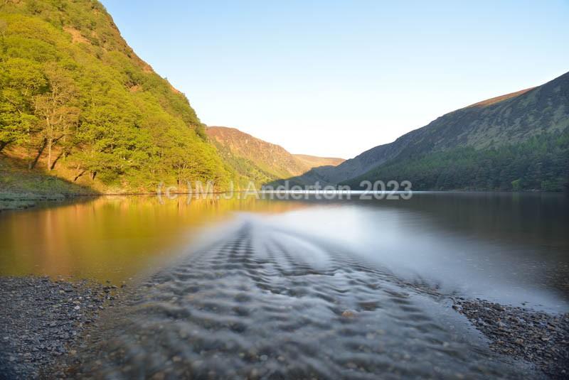 Glendalough Stream Sunrise