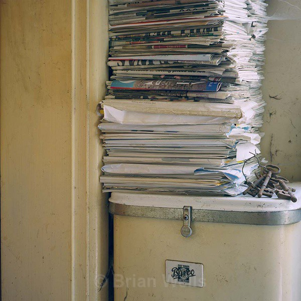 Many Magazines On A Burco - 'Geoffrey's House'