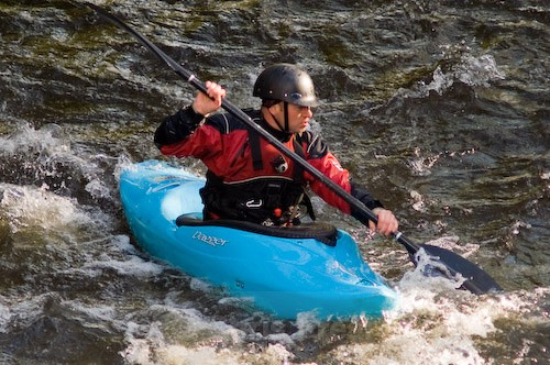 Kayaking on the Scuar - Sports/Action Images