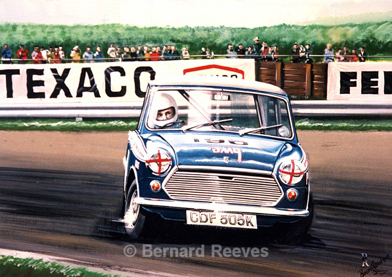 Racing Mini at Brands Hatch - Classic cars