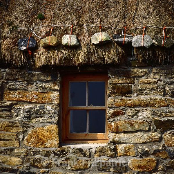 Croft house window detail, Isle of Benbecula - Benbecula