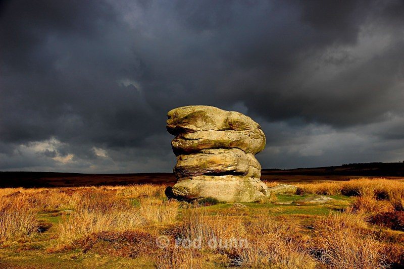 Eagle Stone - Peak District
