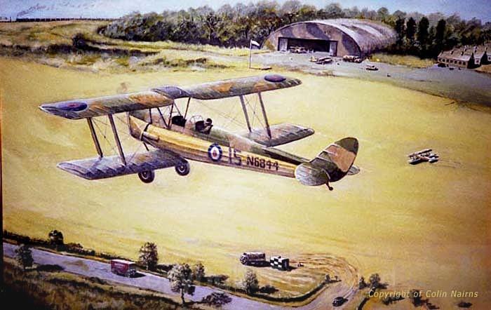 'First Solo Flight' - Transport