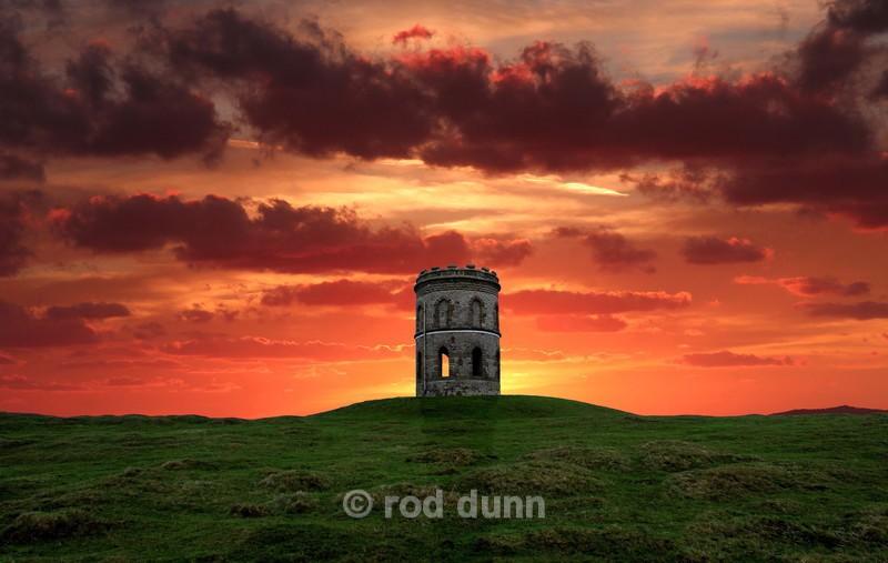 Solomon's Temple sunrise - Peak District