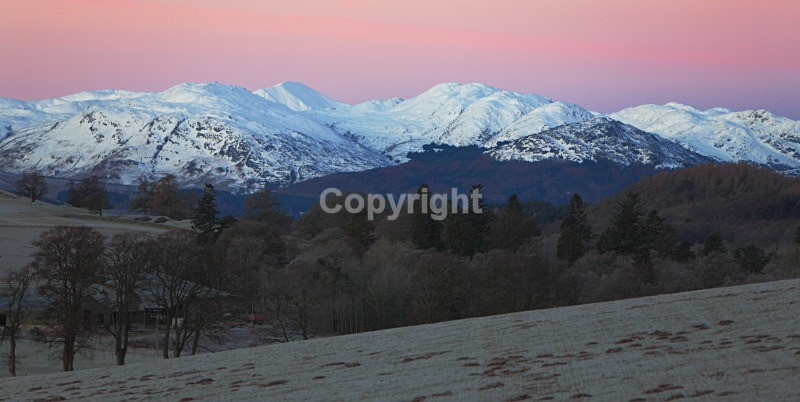 Aberuchill Mountains - Landscapes