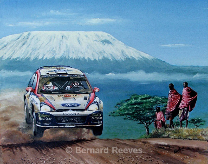 Colin McRae - Mount Kilimanjaro - Rally cars & drivers