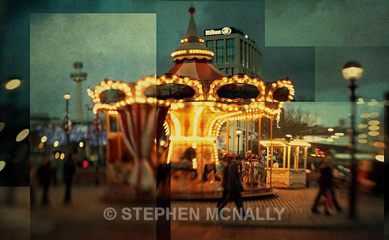 Merry go round - Photographic Cubism