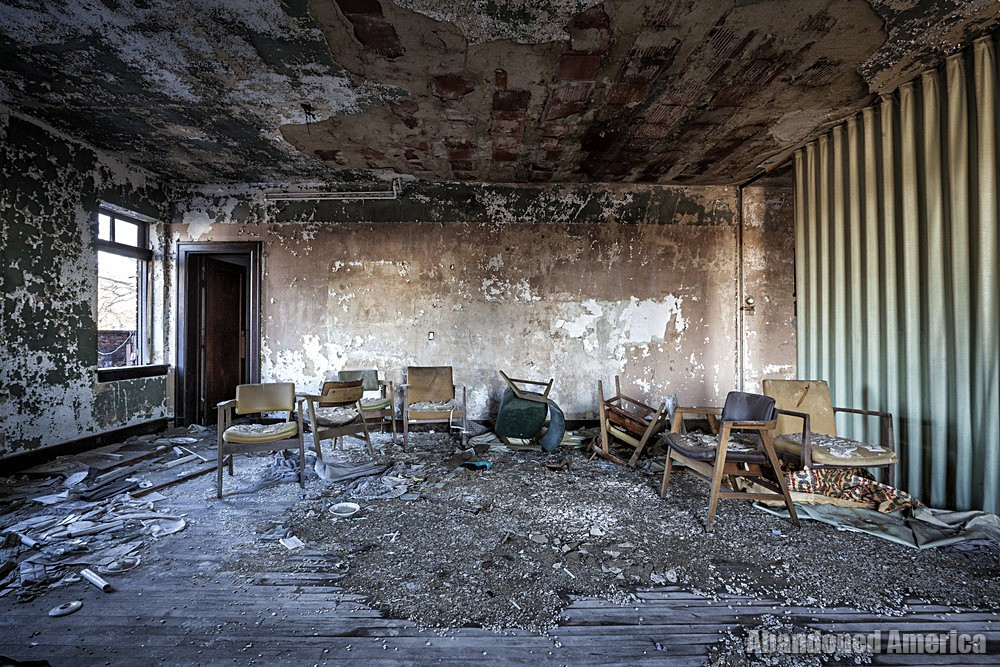 Newburgh Masonic Temple (Cleveland, OH)   Chairs in Disarray - The Newburgh Masonic Temple
