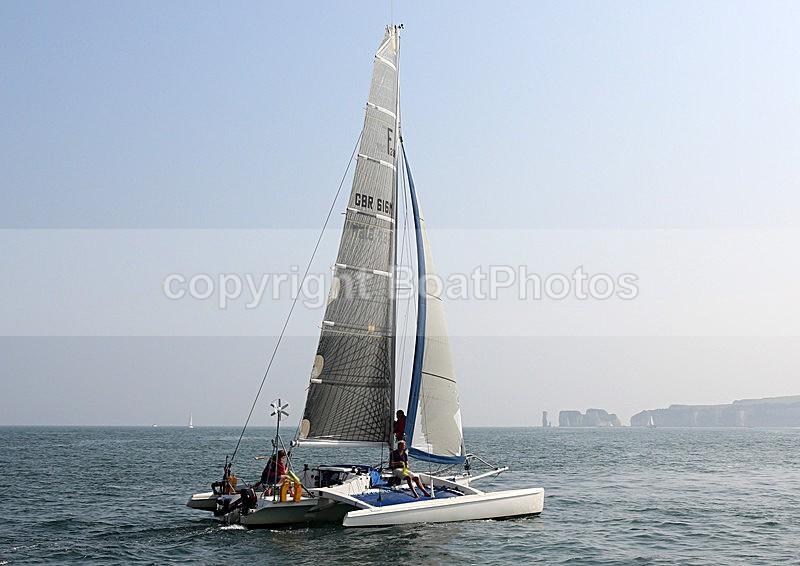 140907 TIGGER GBR616M WT7A5562 - Sailboats - multihull