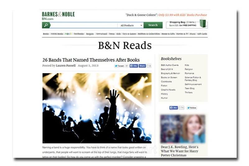 Barnes & Noble - The Media