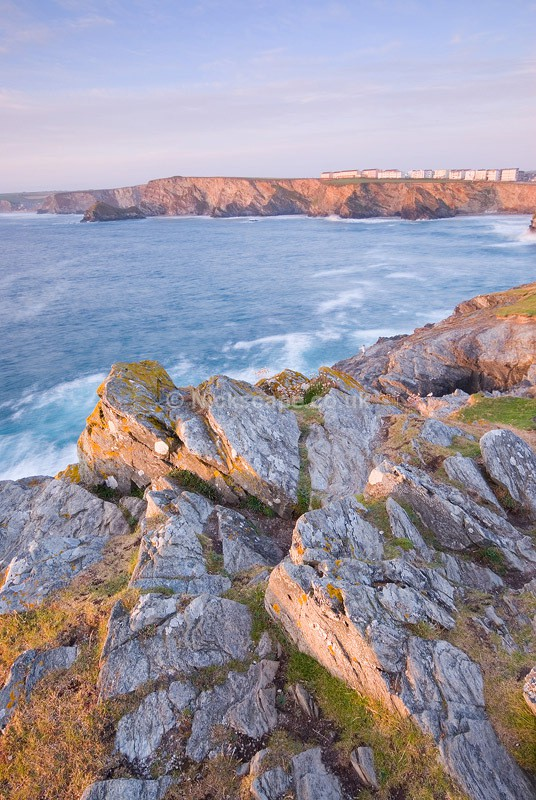 Watergate Bay from Trevelgue Head | Newquay Coast Photography Gallery