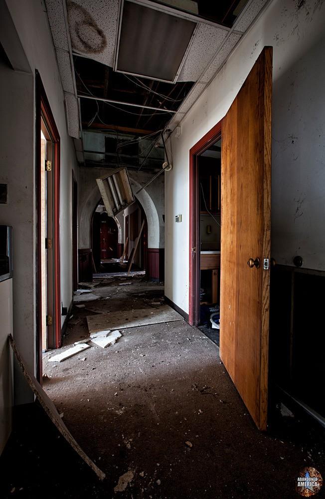 St. Peter's Episcopal Church (Germantown, PA)   Parish House Hallway - St. Peter's Episcopal Church