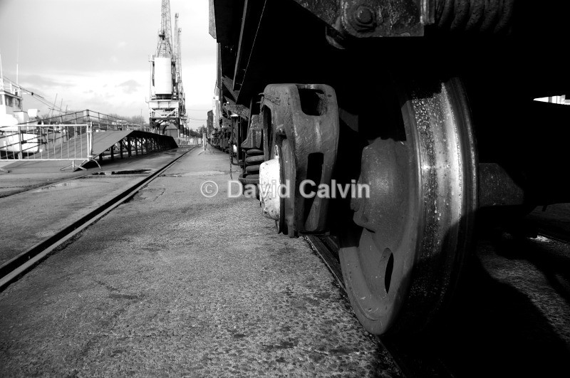 Steel Wheels - Bristol Harbourside
