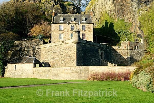 Dumbarton Castle, Dumbarton. - Dumbarton
