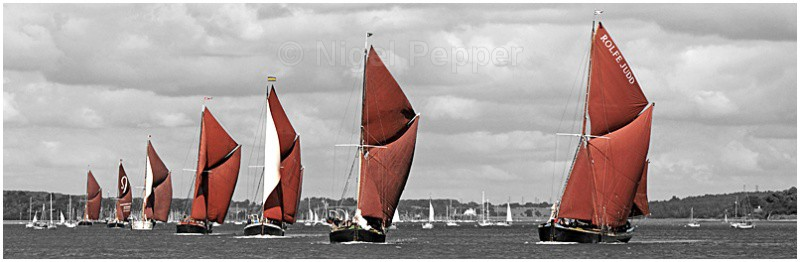 Line Of Sail (2) - The Pin Mill Barge Match