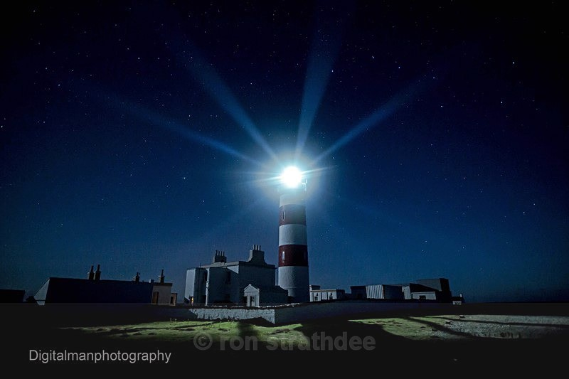 Plough and Point of Ayre Lighthouse - Skies of Man