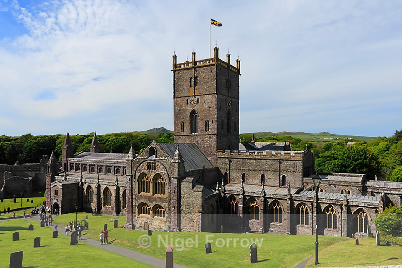 St Davids Cathedral from the Gatehouse - Wales
