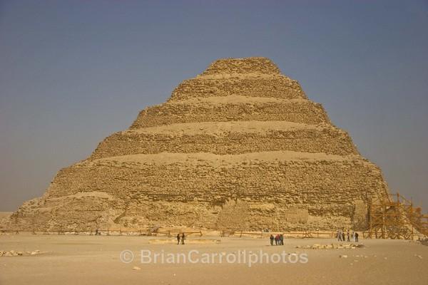 Stepped Pyramid at Saqqara,south of Cairo,Egypt - Egypt Nile Tour 08
