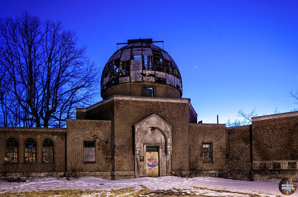 Warner Swasey Observatory (Cleveland, OH) | Shattered Dome - The Warner and Swasey Observatory