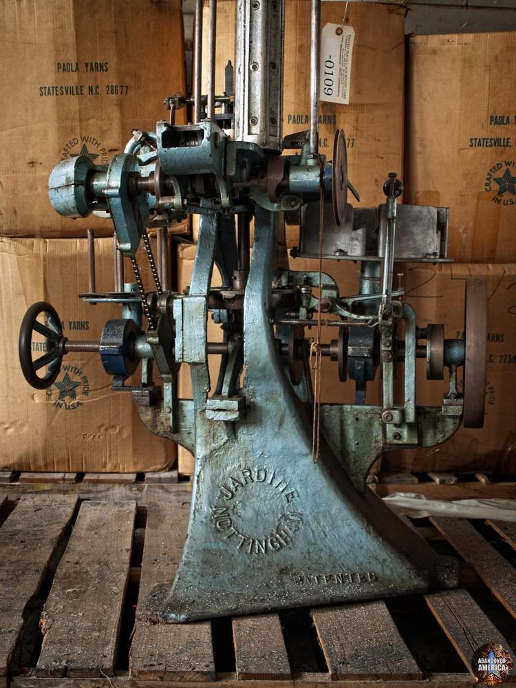 The Scranton Lace Company | Nottingham Loom Part - Scranton Lace Company