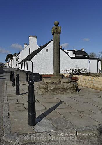 The Mercat cross, Houston, Renfrewshire, Scotland. - Renfrewshire