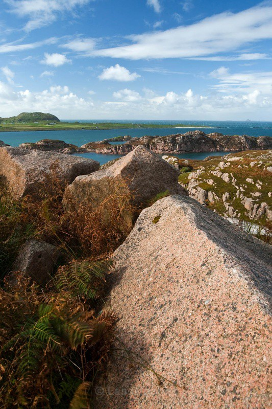 pink granite - Mull and Iona