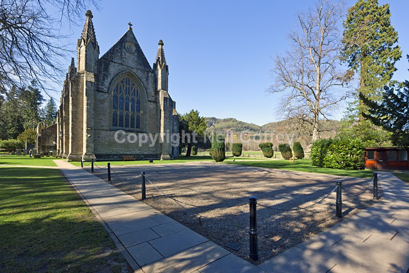 Dunkeld Cathedral, Perthshire - Cities & Towns