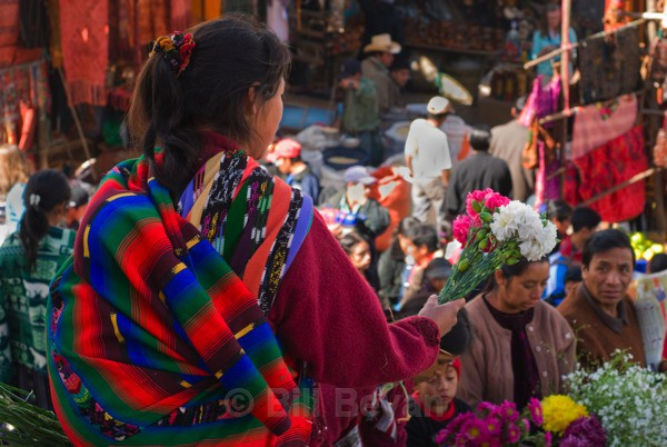 Chichicastenango Flower Seller - Travel