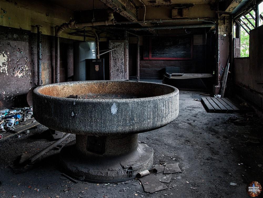 St. Nicholas Coal Breaker (Mahanoy City, PA) | Wash Room - St. Nicholas Breaker