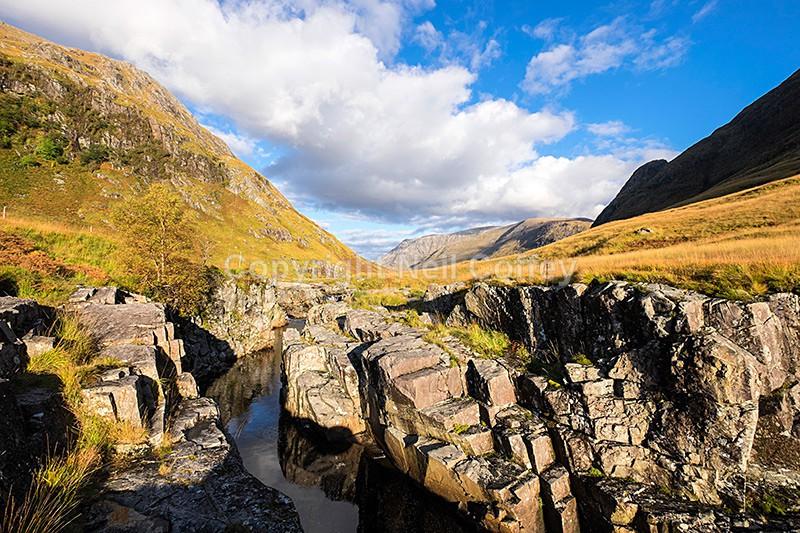 River Etive, Glen Etive, Highland - Landscape format
